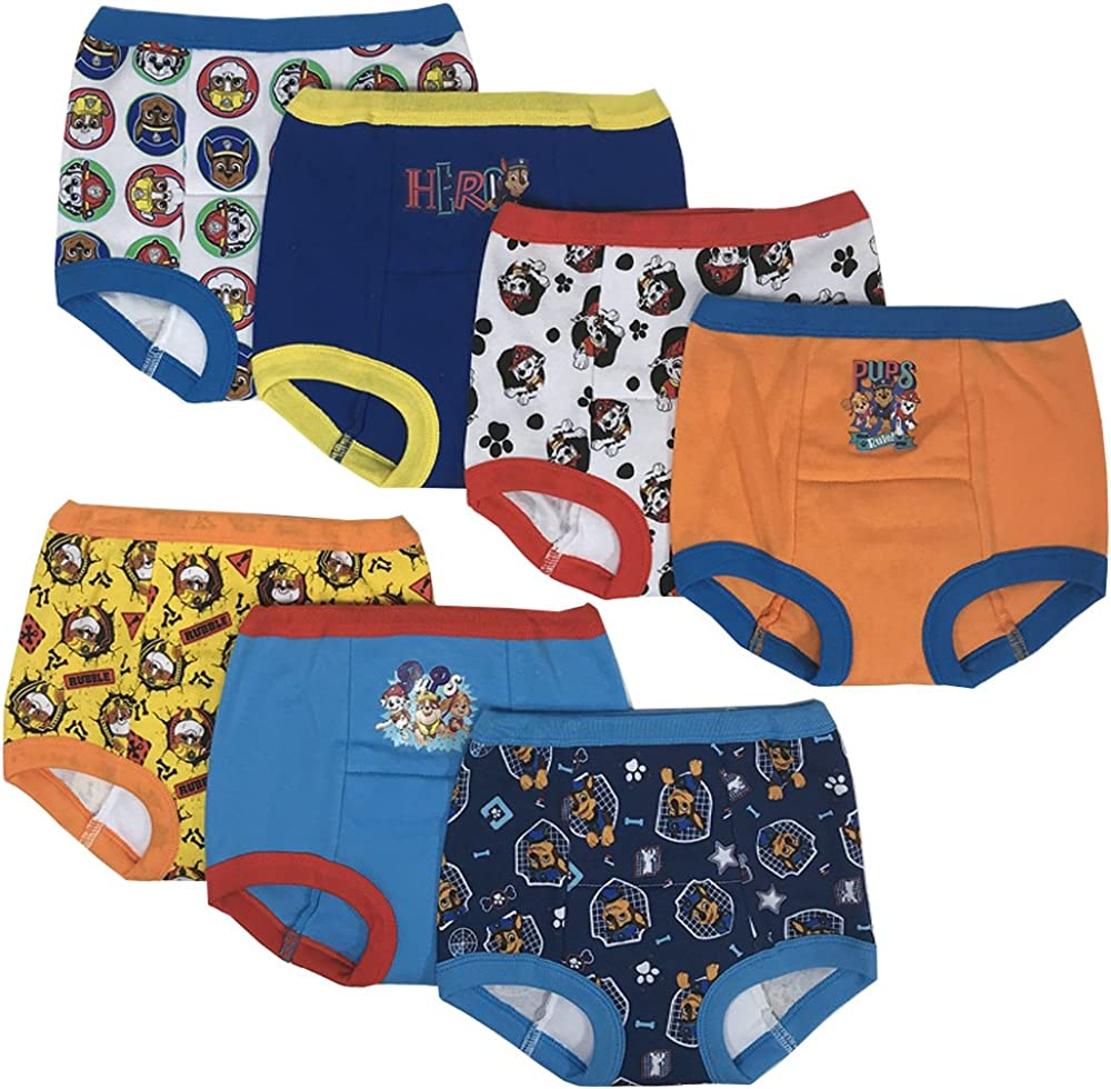 4T Nickelodeon Boys Toddler 7pk Underwear Assorted