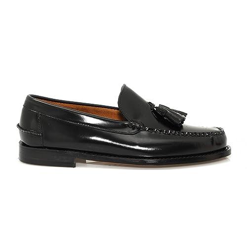 Aleppo 81027001 Mocasin piel hombre borlas: Amazon.es: Zapatos y complementos