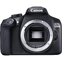 Canon EOS 1300D 18-55Mm Is Fotoğraf Makinesi, Full Hd (1080P), Siyah, 2 Yıl Canon Eurasia Garantili