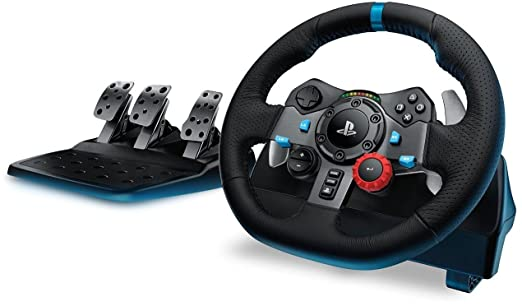 656 opinioni per Logitech G29 Driving Force Volante da Corsa per PS4/PS3/PC, Nero