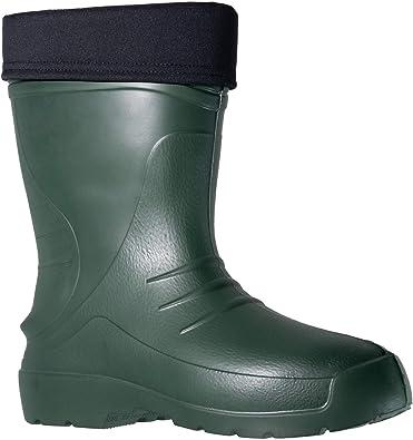 Fagum Stomil Hombre Botas de Lluvia - Botas Impermeables cálidas con Forro Polar - Zapatos de jardín Antideslizantes - Tamaño 44 EU: Amazon.es: Zapatos y complementos
