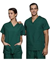 Lister Unisex Medical Hospital Surgical Operating Doctor Vets Scrub Tunic (various colours, sizes XS to 3XL)