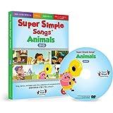 スーパー シンプル ソングス アニマル DVD 子ども 英語