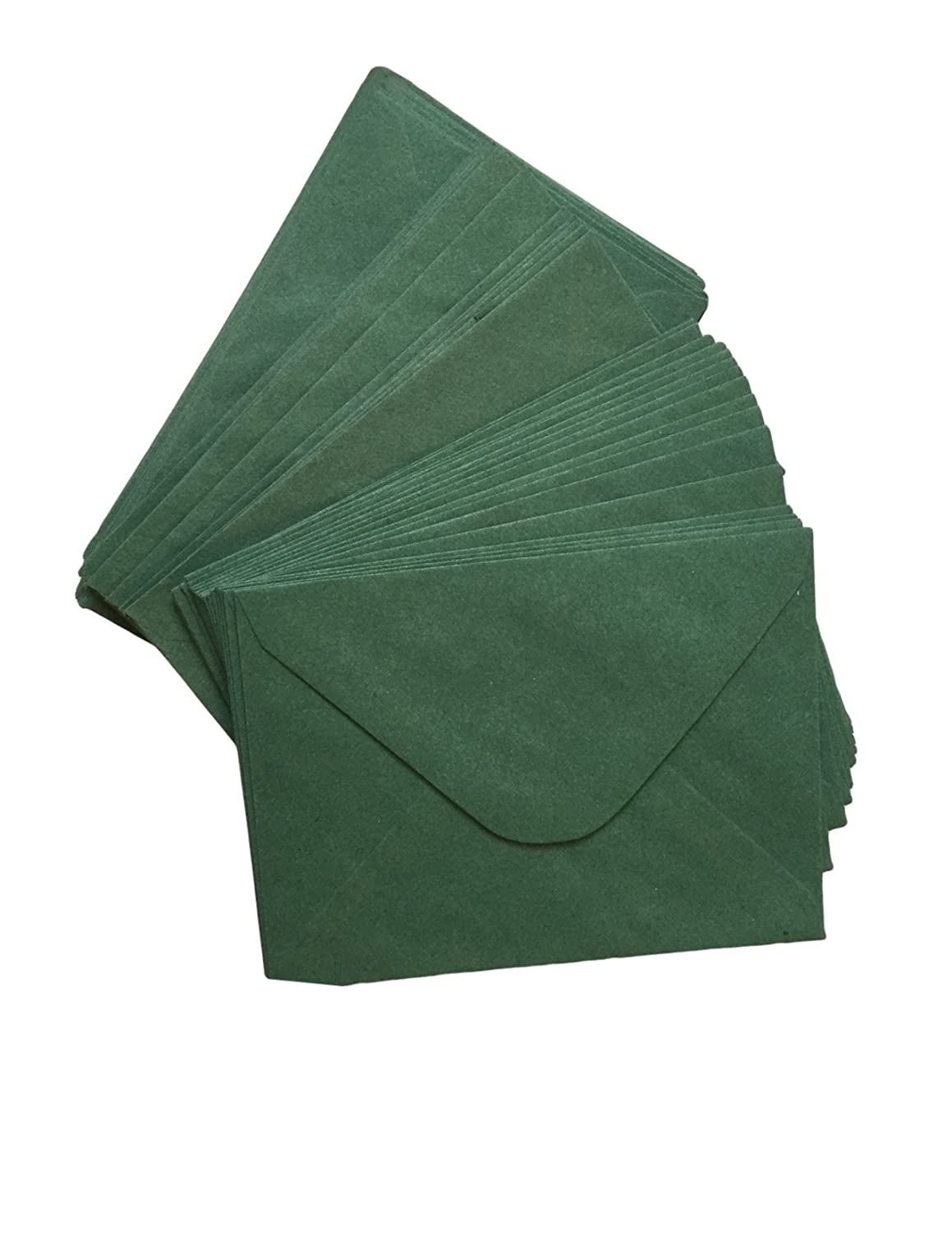 Casa di carta e carta C6 –  Busta di Natale verde muschio (Confezione da 100) Stationery & Craft Select HCP315