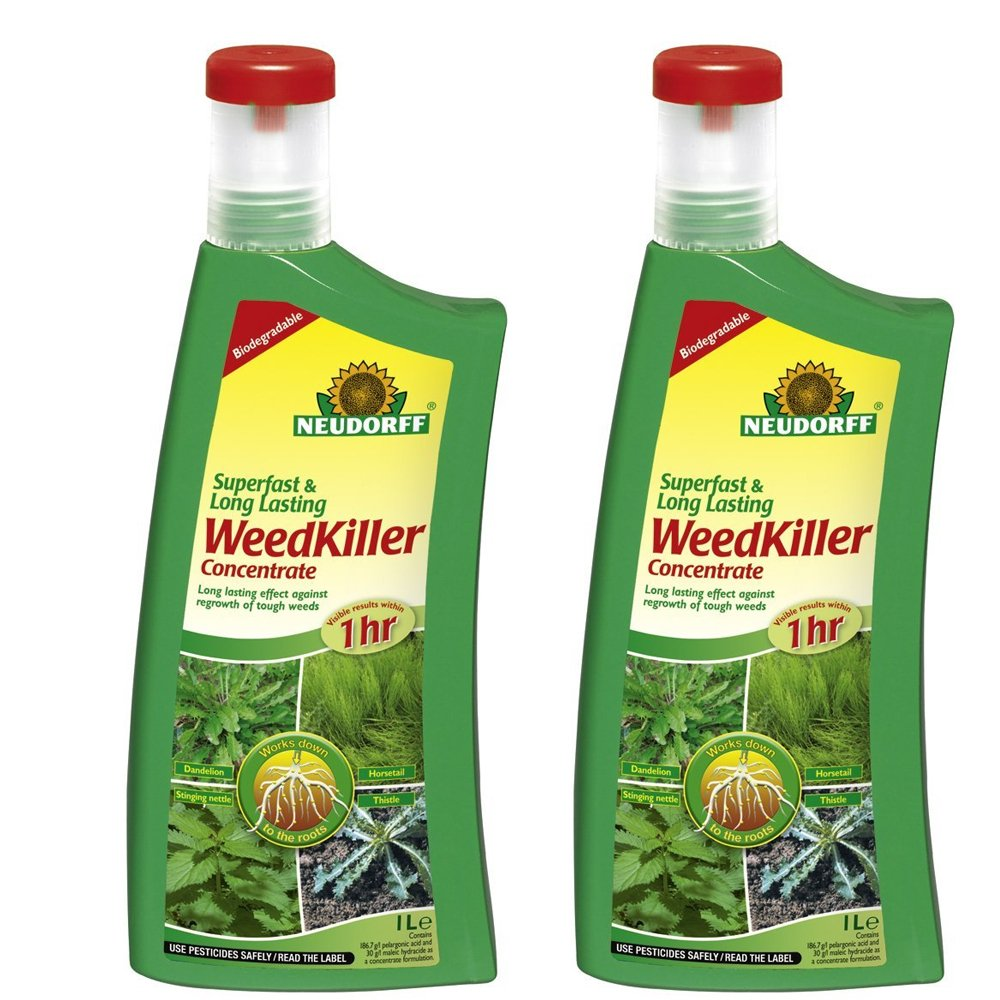 Doff Portland Ltd Neudorff 1L Superfast and Long Lasting Weed Killer Concentrate 613618