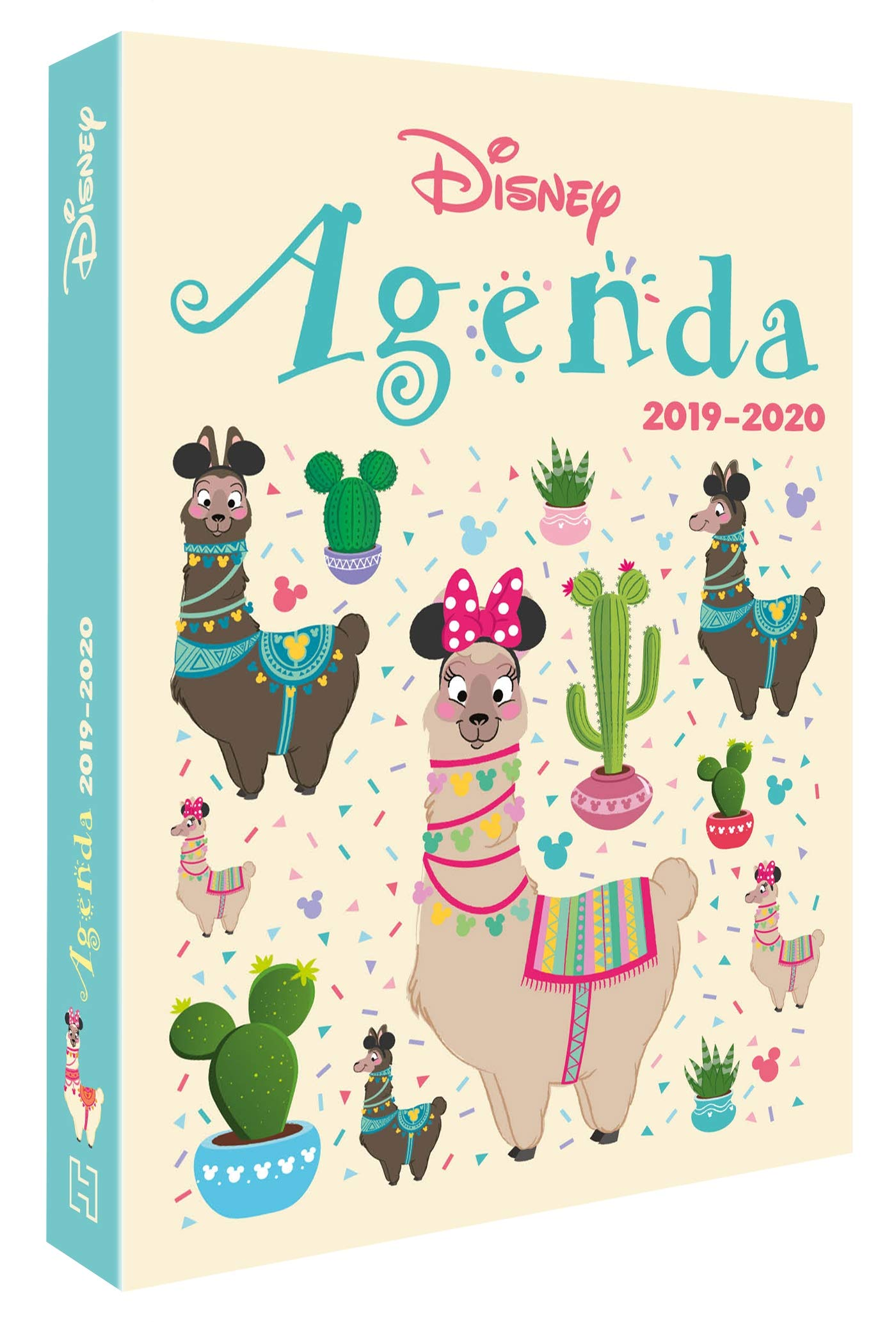MICKEY - Agenda 2019-2020 - Une année avec les lamas: Amazon ...