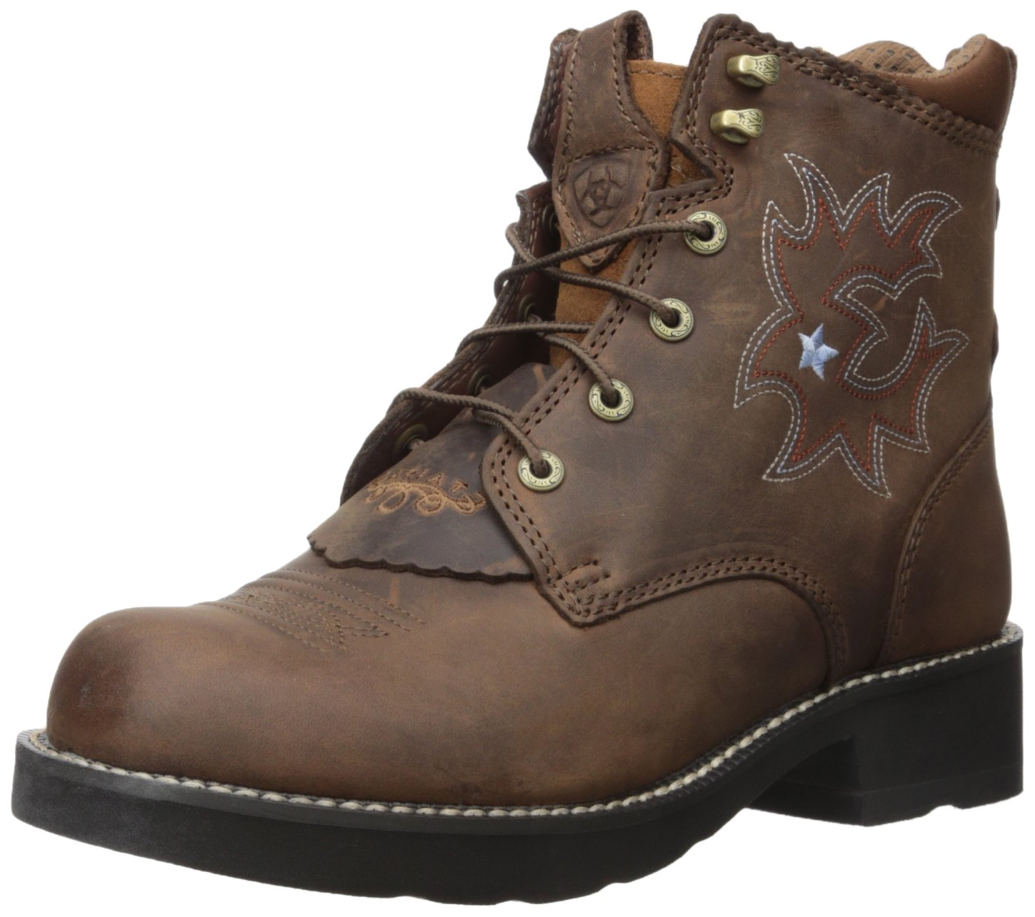 Ariat Women's Probaby Lacer Western Cowboy Boot, Driftwood Brown, 8.5 B US by ARIAT
