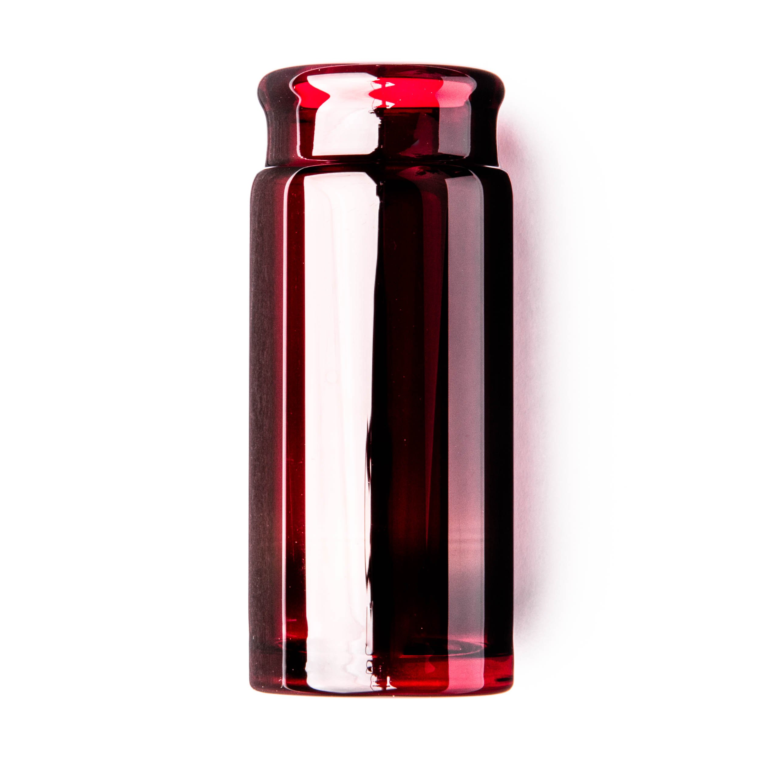 Dunlop 278RED Blues Bottle Slide, Red, Heavy Wall Thickness, Large