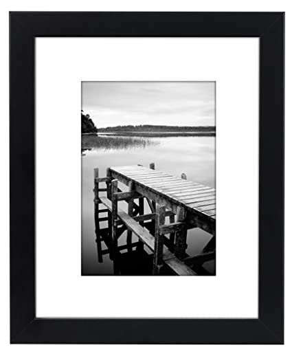 Amazon Americanflat 8x10 Black Picture Frame Made To Display