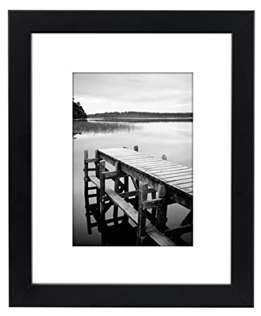 Amazoncom Americanflat 8x10 Picture Frame Black