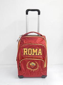 AS Roma - Mochila trolley escolar con carcasa reforzada y mango de telescópico de aluminio: Amazon.es: Oficina y papelería