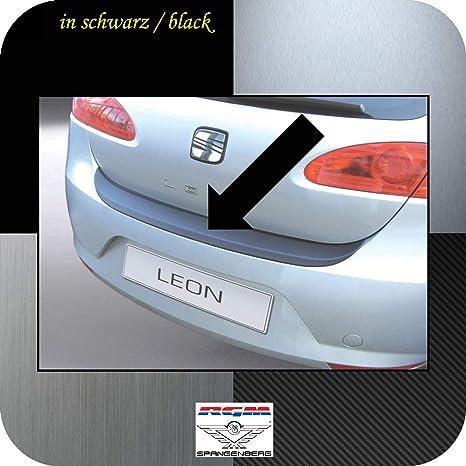 Richard Grant Mouldings Ltd. Original RGM ladekant Protección Negro para Seat Leon II Hatchback de