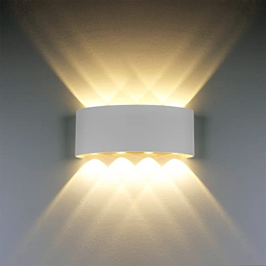 Wall light modern ip65 waterproof 8w led wall sconce lights wall light modern ip65 waterproof 8w led wall sconce lights aluminium fixture up down decorative spot aloadofball Choice Image