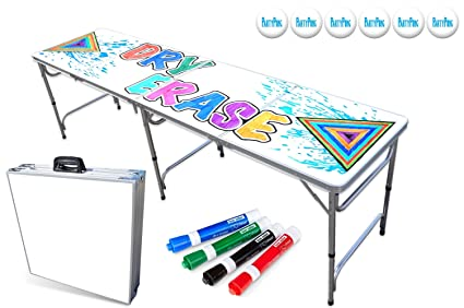 Amazon.com   PartyPongTables.com 8-Foot Beer Pong Table - Dry Erase ... 5aca440b0