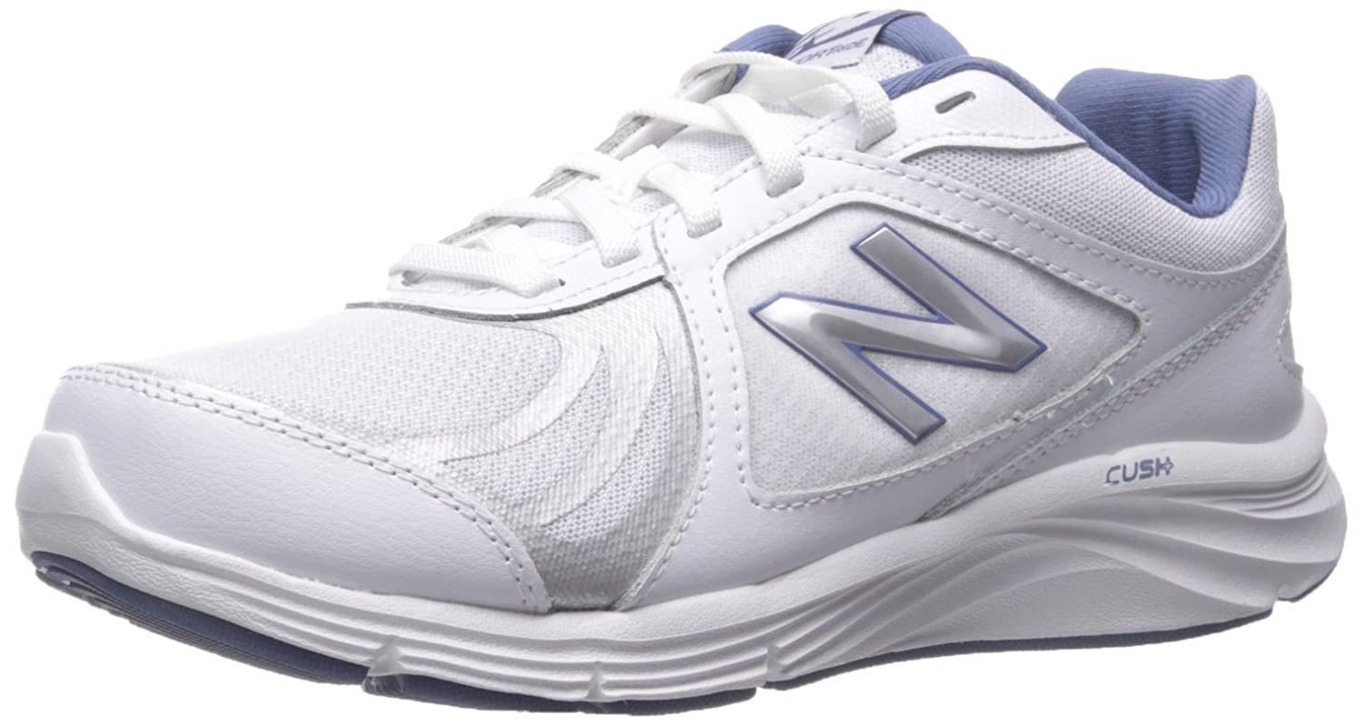 New Balance Women's WW496V3 Walking Shoe-W CUSH + Walking Shoe B012H01IHE 8.5 2A US|White/Blue
