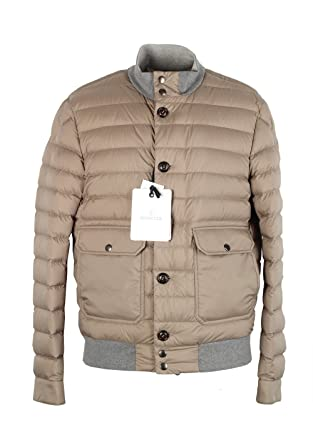 3ea5825cf7cd Moncler CL Beige Chaberton Coat Size 2   M   48 38 U.S.  Amazon.co ...