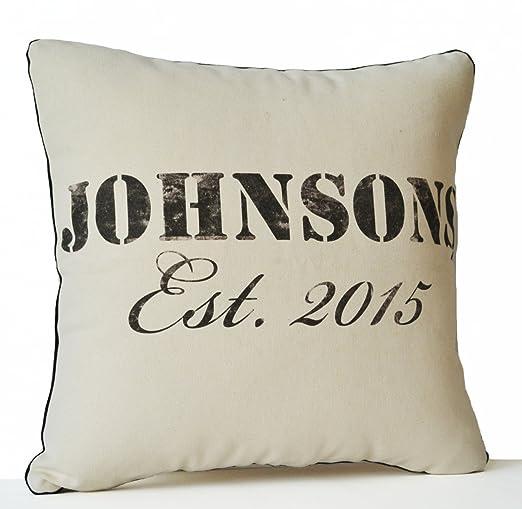 Funda de almohada de algodón orgánico personalizado ...