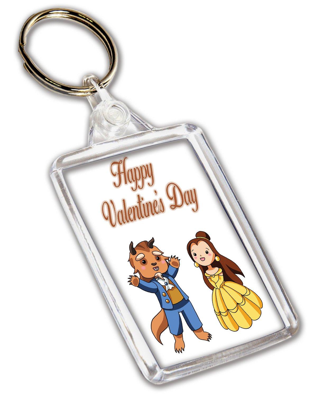 Llavero de San Valentín para él o ella, diseño de pareja de ...