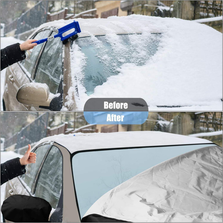 Telo di copertura per parabrezza auto Vorcool contro il sole e la neve
