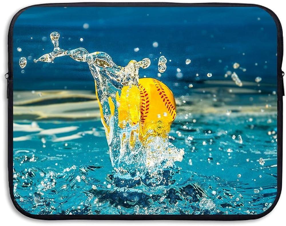 Water-resistant Laptop Bags Water Softball Ultrabook Briefcase Sleeve Case Bags