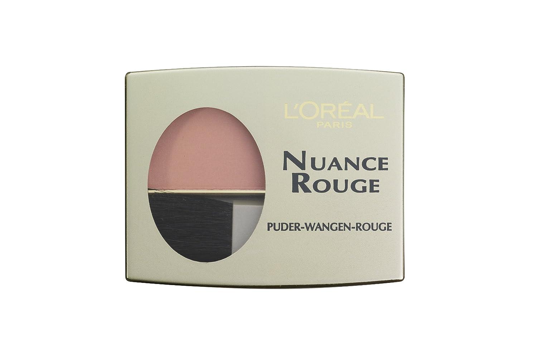 LOréal Paris Nuance Rouge, 107 Haselnuß/Wangenrouge für natürlich ...