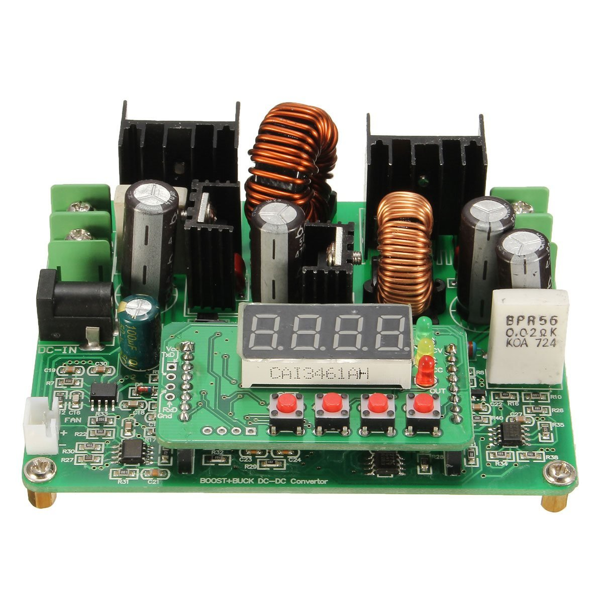 Quickbuying DC-DC 38V Digital Step-up Step-down Module Boost Buck Converter Solar Charging Best Price New Electric Unit Modules Board