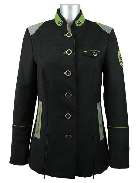 Chaqueta bávaro para mujer chaqueta de Kaiser cazador de negro y ...