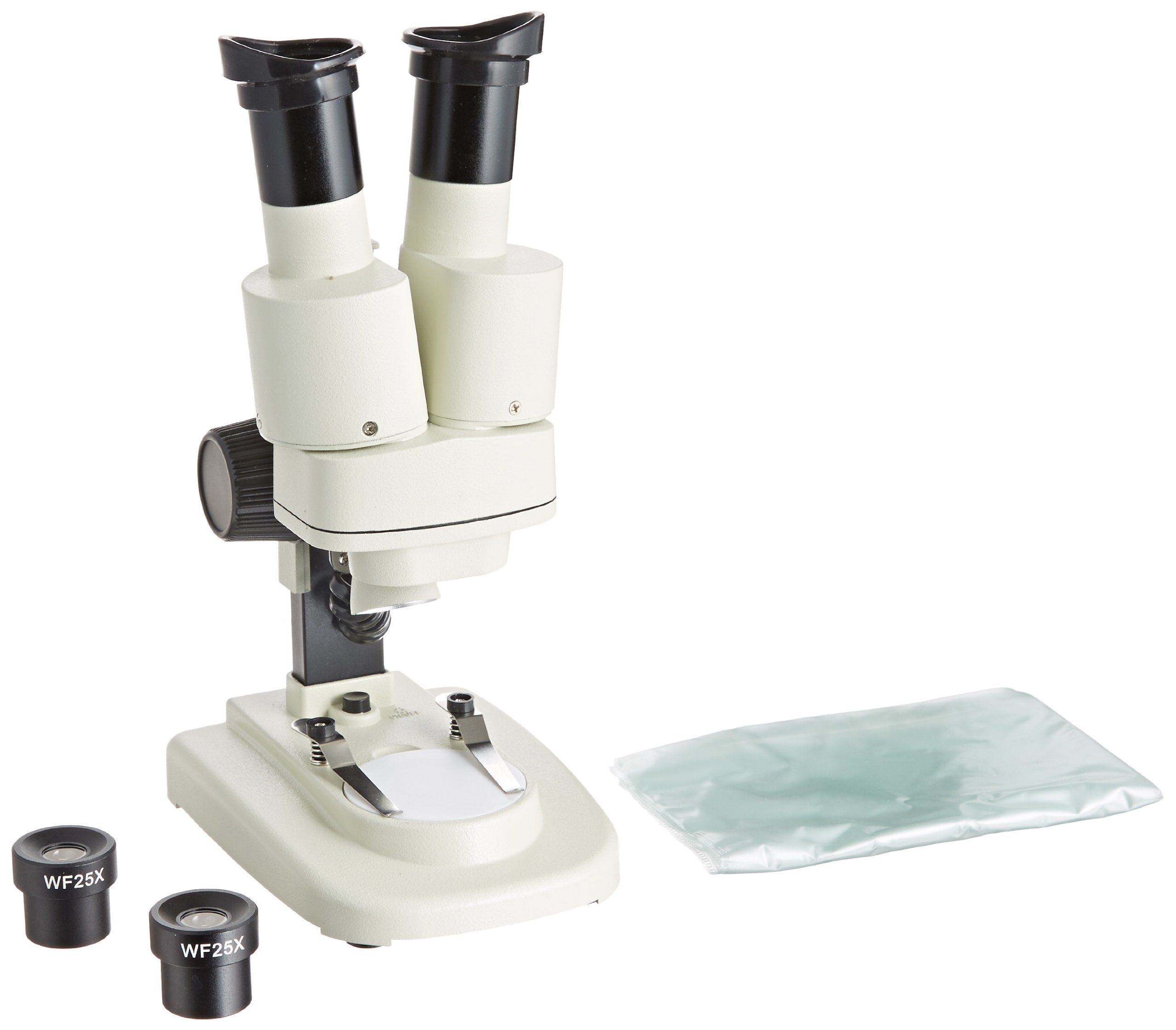 AMSCOPE-Kids SE100-ZZ-LED 20X-50X Cordless Student Stereo Microscope + LED Light
