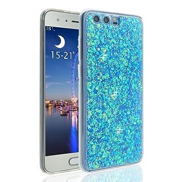Funda Huawei Honor 9 Silicona, Honor 9 Carcasa Piel, Moon ...