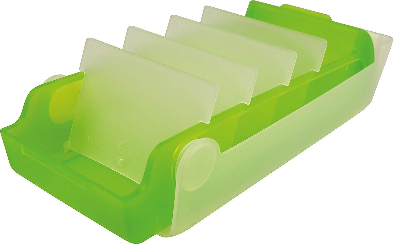 Lernkartei und Aufbewahrungsboxthe beebox DIN A7 quer Helit H6901130 blau transluzent