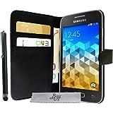 Etui Housse Luxe Portefeuille Samsung Galaxy Trend 2 Lite SM-G318H + STYLET et 3 FILM OFFERT!!
