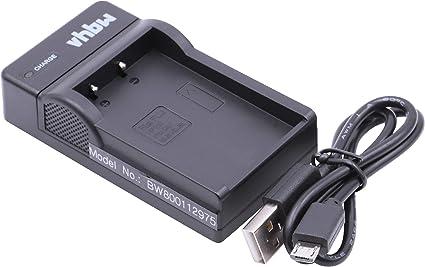 vhbw Micro USB Ladegerät Ladekabel passend für Kamera FujiFujifilm FinePix S100, S100FS, S200, S200EXR