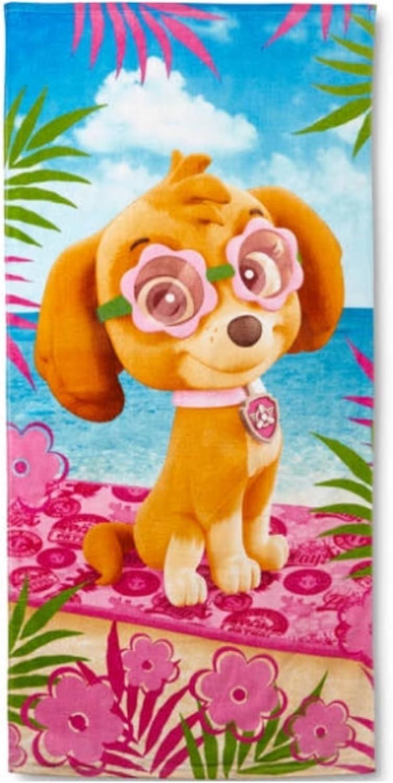 Patrulla Canina Skye toalla de playa piscina niña: Amazon.es: Hogar