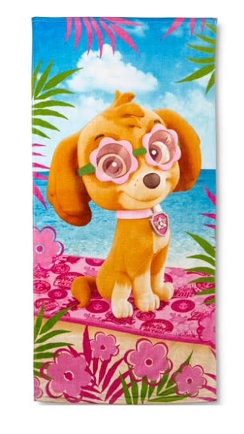 Patrulla Canina Skye toalla de playa piscina niña