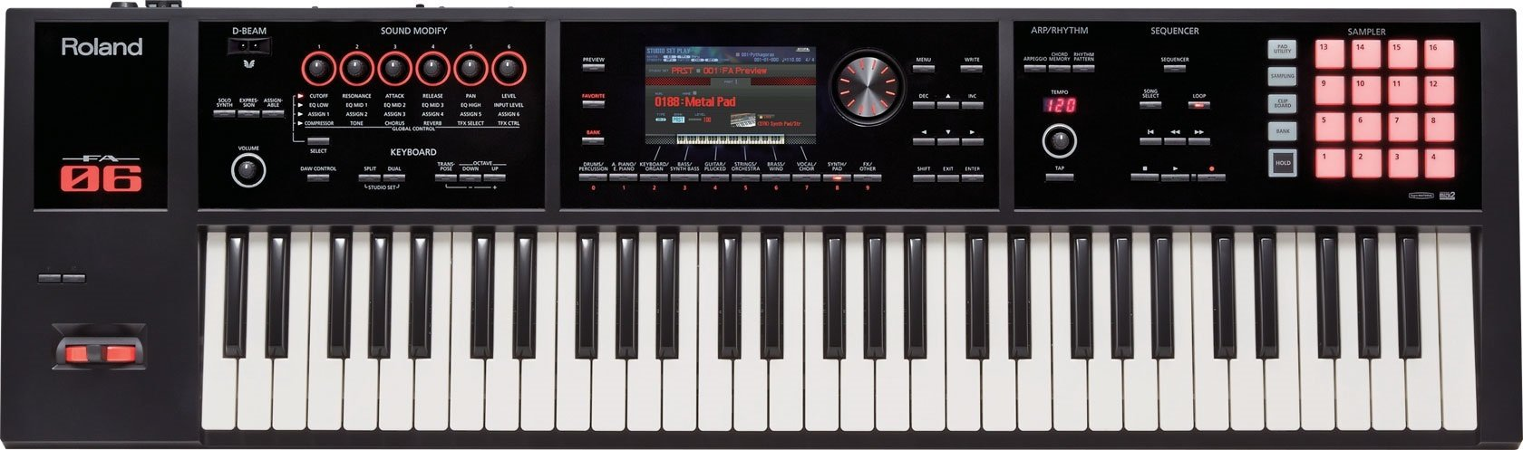 Roland 61-key Music Workstation (FA-06)