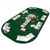 Table de poker pliable Coussin Coussin de table de poker table de poker Casino Poker Coussin 160x 80cm