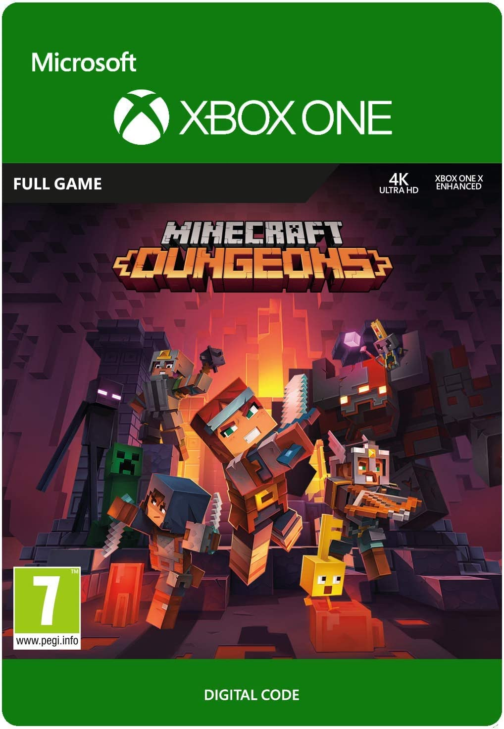 Minecraft Dungeons Standard  Xbox One - Download Code: Amazon.co