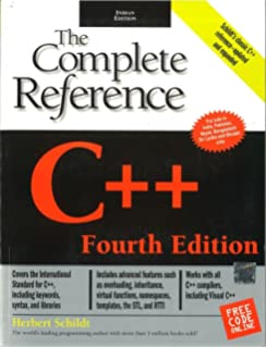 C++ : The Complete Reference 4 Edition price comparison at Flipkart, Amazon, Crossword, Uread, Bookadda, Landmark, Homeshop18