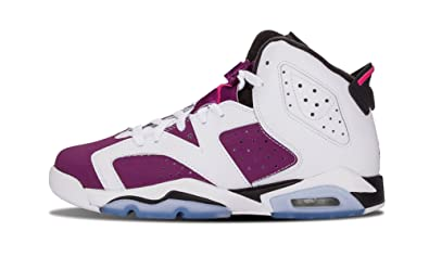 348b83e3df56 Image Unavailable. Image not available for. Color  Jordan Gradeschool Girls  Retro 6 ...