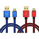 [Lot de 2] Câble de Charge pour Manette Playstation 4 Xbox One PS4 Pro/Slim