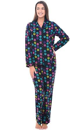 Del Rossa Women's Flannel Pajamas, Long Cotton Pj Set at Amazon ...