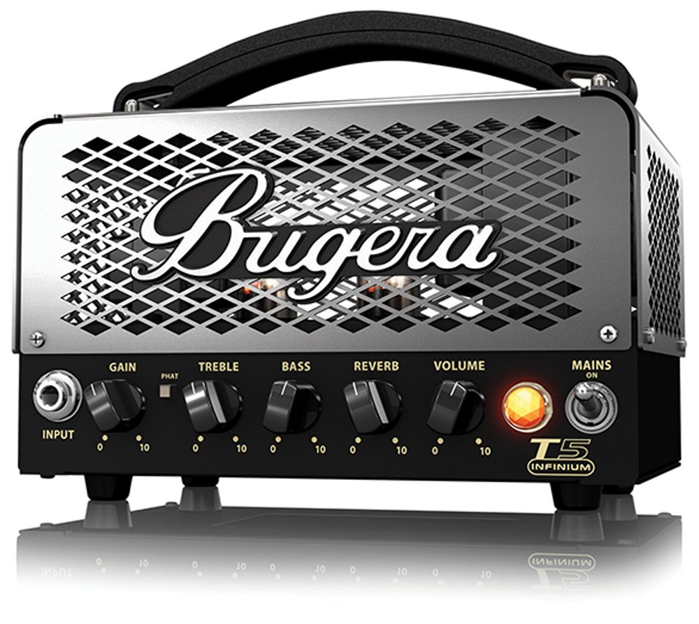 2. BUGERA T5 5-Watt Cage-Style Amplifier Head with Infinium Tube