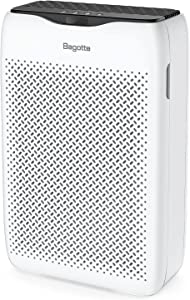 Air Purifier, Bagotte True HEPA Air Purifier for Home Large Room (99.97%), Quiet Air Cleaner Removes Allergies, Pet Hair, Smoke, Odors, for Bedroom, Office, Sleep Mode & Timer