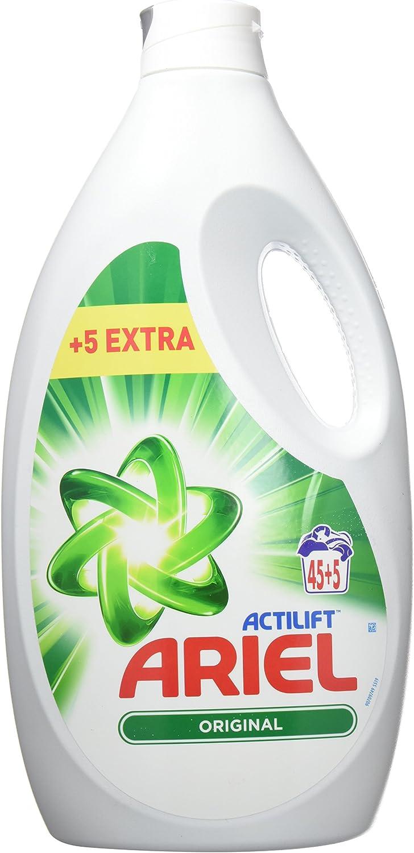 Ariel Actilift Detergente Líquido para Lavadora - 2475 ml, 45 ...