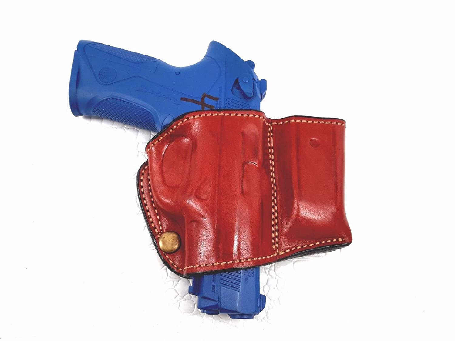"""MyHolster OWB Quick Slide Leather Belt Holster for Smith /& Wesson M/&P 45 4.5/"""""""