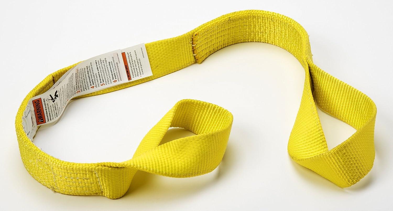 DURABULL DFE2903P19Y 3 2 Ply Polyester Flat Eye Synthetic Web Slings
