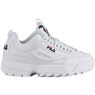 Fila Youth Disruptor II Leather Trainer