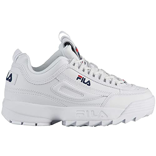 Fila Youth Disruptor II Leather Entrenadores: Amazon.es: Zapatos y complementos