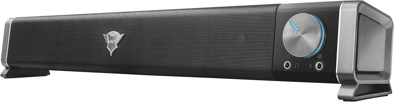 Trust Gaming GXT 618 Asto - Barra de Sonido para PC y TV (12 W, conexión USB, Gaming), Color Negro