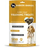 Barker and Barker Low Fat Dog Training Treats 1250 Little Liver Treat pouch